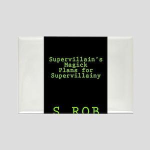 SUPERVILLAIN'S PLANS Magnets