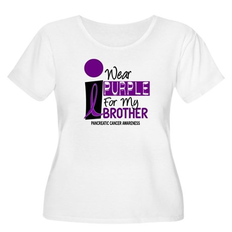 I Wear Purple For My Brother 9 PC Women's Plus Siz