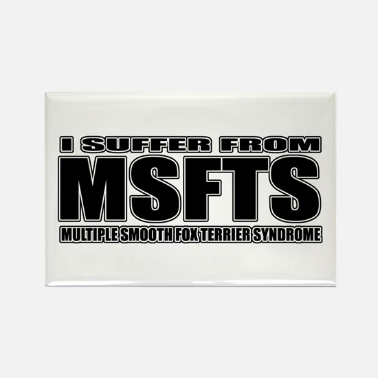 Smooth Fox Terrier Rectangle Magnet (100 pack)