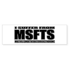 Smooth Fox Terrier Sticker (Bumper 50 pk)