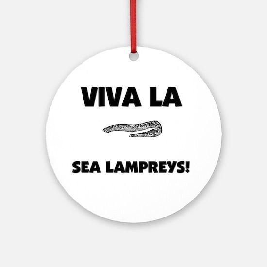 Viva La Sea Lampreys Ornament (Round)