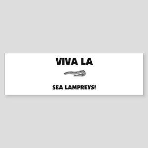 Viva La Sea Lampreys Bumper Sticker