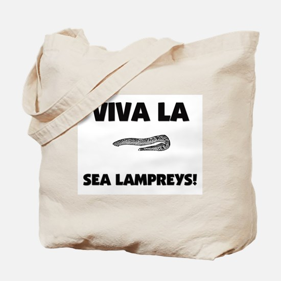 Viva La Sea Lampreys Tote Bag
