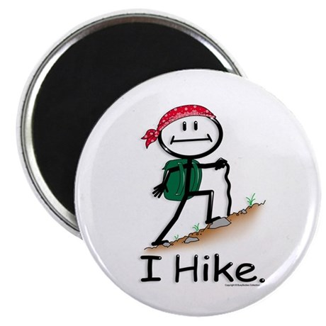 """BusyBodies Hiking 2.25"""" Magnet (100 pack)"""