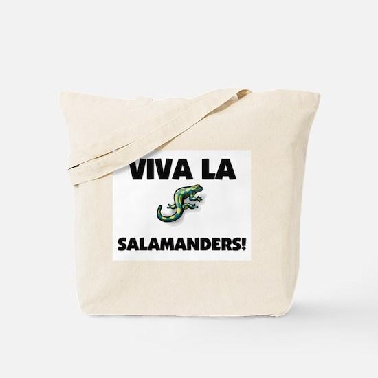 Viva La Salamanders Tote Bag