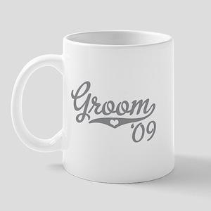 Grey Heart Sporty Groom 09 Mug