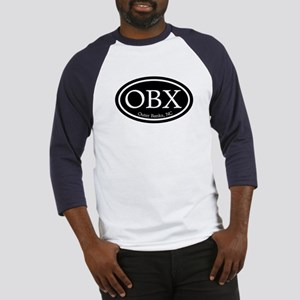 OBX Outer Banks, NC Oval Baseball Jersey