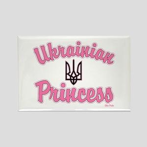 Ukie Princess Rectangle Magnet