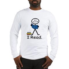 BusyBodies Reading Long Sleeve T-Shirt