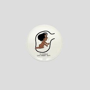 Dark-Skinned EGGBERT YO, World Mini Button