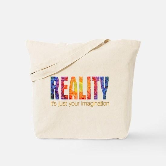 Reality Imagination Tote Bag