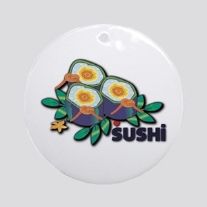 Love Sushi Ornament (Round)