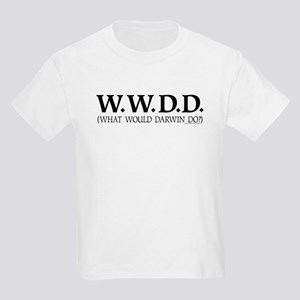 What Would Darwin Do? Kids T-Shirt