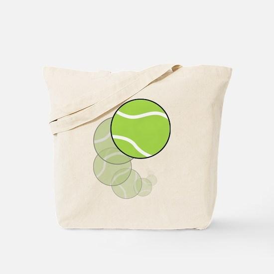 Tennis Wave Tote Bag