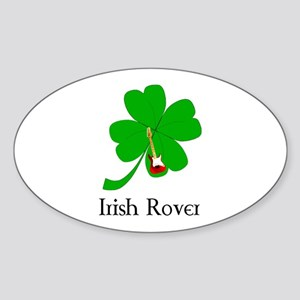 Irish Rover Oval Sticker