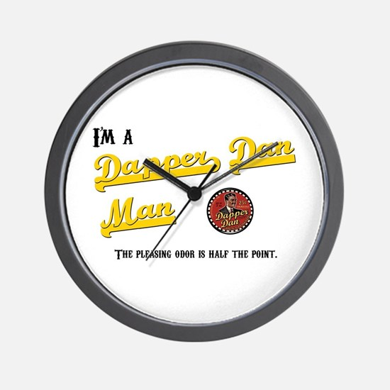 Dapper Dan Wall Clock