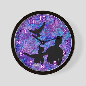 Pigeons, the Family Hobby Wall Clock