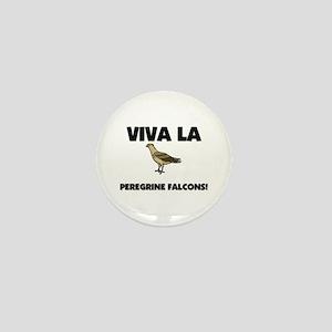 Viva La Peregrine Falcons Mini Button