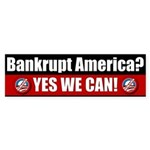 Bankrupt America? Bumper Sticker (10 pk)
