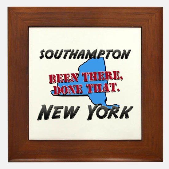 southampton new york - been there, done that Frame