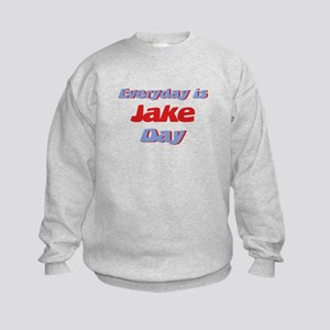 Everyday is Jake Day Kids Sweatshirt