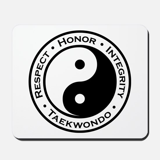 Respect Honor Integrity TKD Mousepad