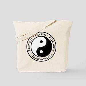 Respect Honor Integrity Tkd Tote Bag