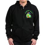 Earth Day Home Zip Hoodie (dark)