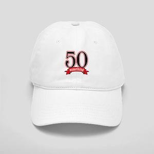 50 Something 50th Birthday Cap
