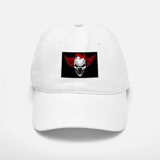 Happy Evil Clown Red Hair Baseball Baseball Baseball Cap