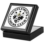 Gentlemen's Chess Club Keepsake Box