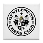 Gentlemen's Chess Club Tile Coaster