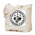 Gentlemen's Chess Club Tote Bag