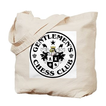 Gentlemen's Chess Club Tote Bag