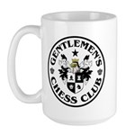 Gentlemen's Chess Club Large Mug