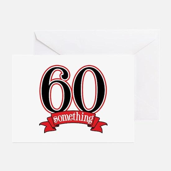 60 Something, 60th Birthday Greeting Cards (Pk of