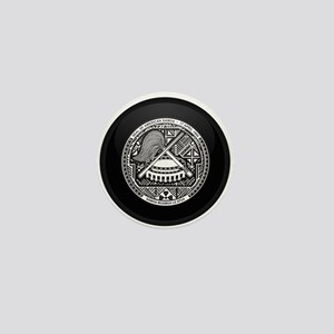 Coat of Arms of American S Mini Button