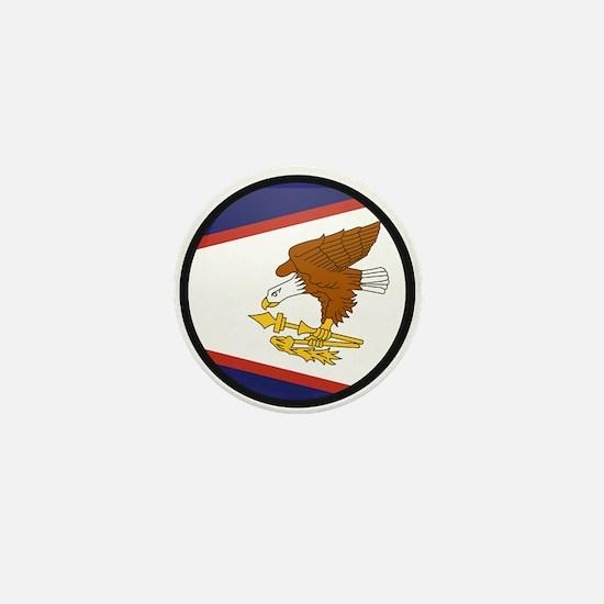 American Samoa Mini Button