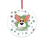Corgi Stars Ornament (Round)