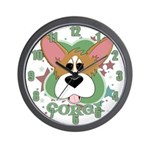 Corgi Stars Clock