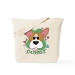 Corgi Stars Tote Bag