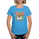 Corgi Stars Women's Dark T-Shirt