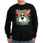 Corgi Stars Sweatshirt (dark)