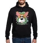 Corgi Stars Hoodie (dark)