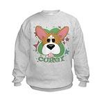 Corgi Stars Kids Sweatshirt
