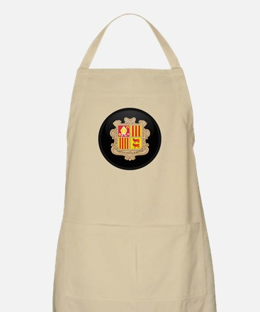 Coat of Arms of Andorra BBQ Apron