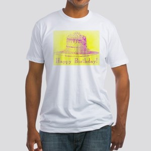 Vintage Birthday - Fitted T-Shirt