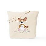 Tubby Corgi Tote Bag