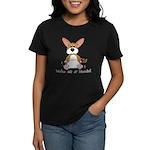 Tubby Corgi Women's Dark T-Shirt
