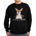 Tubby Corgi Sweatshirt (dark)